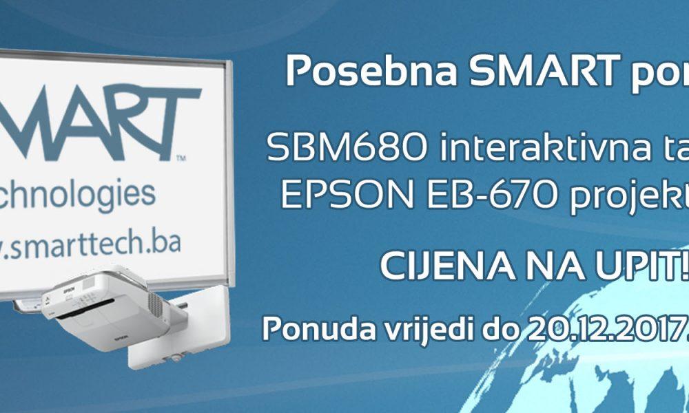 SMART Board™ SBM680 u posebnoj ponudi!