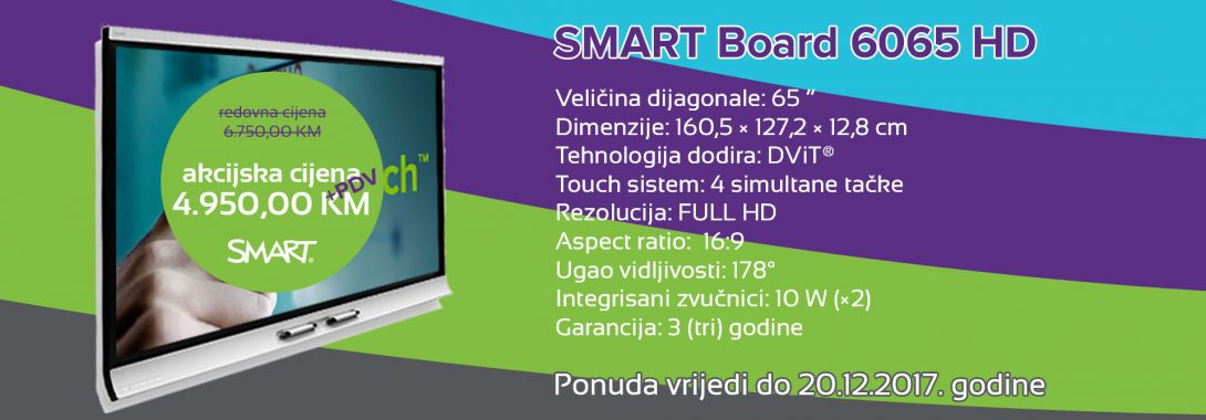 SMART Board 6065 HD po sniženoj cijeni!